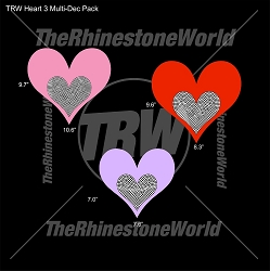 TRW Heart 3 Multi-Dec Pack