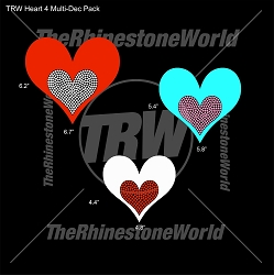 TRW Heart 4 Multi-Dec Pack