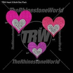 TRW Heart 5 Multi-Dec Pack