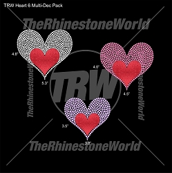 TRW Heart 6 Multi-Dec Pack