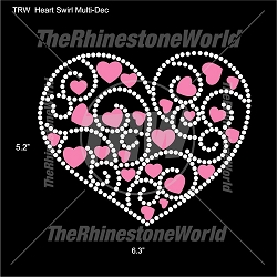 TRW Heart Swirl Multi-Dec