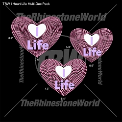 TRW I Heart Life Multi-Dec Pack