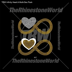 TRW Infinity Heart A Multi-Dec Pack