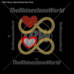 TRW Infinity Heart B Multi-Dec Pack