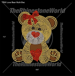 TRW Love Bear Multi-Dec