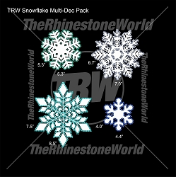 TRW Snowflake Pack Mult-Dec