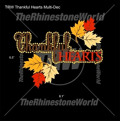 TRW Thankful Hearts Multi-Dec