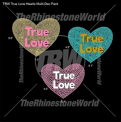 TRW True Love Hearts Multi-Dec Pack