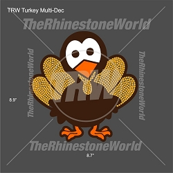 TRW Thanksgiving Turkey Multi-Dec