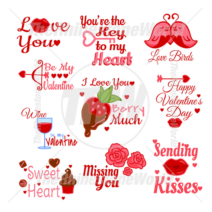 Valentines Live Template Mini Pack 6