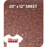 Siser Glitter HTV - Brown