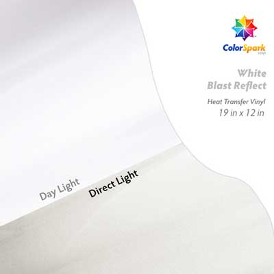 ColorSpark Reflect HTV - White Blast Reflect