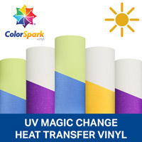 ColorSpark UV Magic Color-Changing HTV