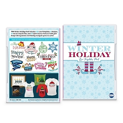 Winter Holiday Live Template Pack