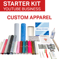 YouTube Custom Apparel Business Starter Kit - Wizard not included