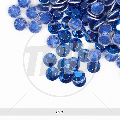 Basic Hot-Fix Blue SS6 Rhinestuds 10-Gross