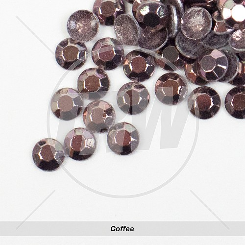 Basic Hot-Fix Coffee SS10 Rhinestuds 100-Gross