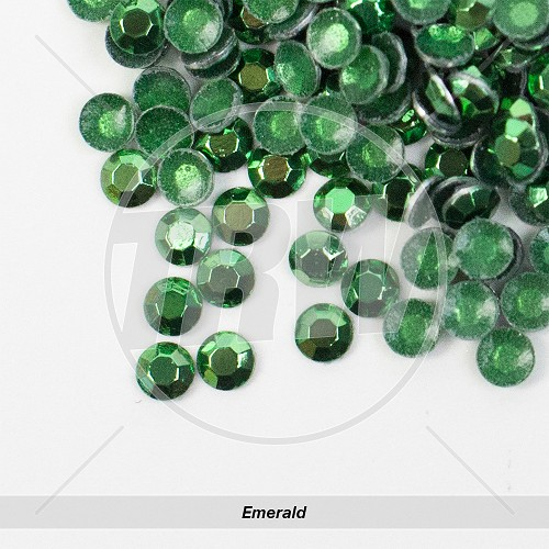 Basic Hot-Fix Emerald SS6 Rhinestuds 10-Gross