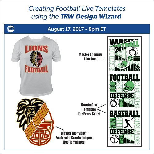 Creating Football Live Templates August 17th, 2017