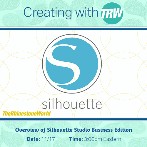Overview of Silhouette Studio Business Edition - November 17th, 2017