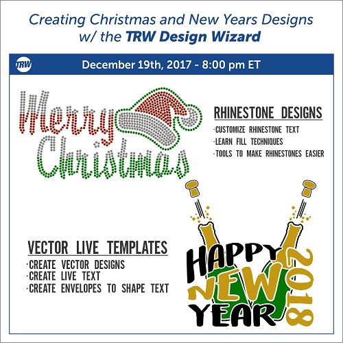 12/19/17 Christmas and New Years Designs
