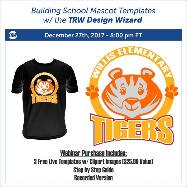 12/27/17 Building School Mascot Live Templates