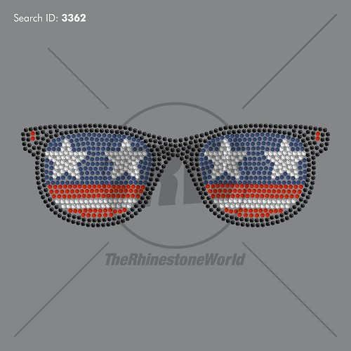 American Glasses - Pre-Cut Template