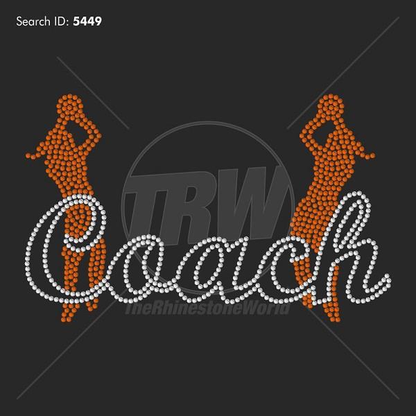 basketball coach 33 pre cut template