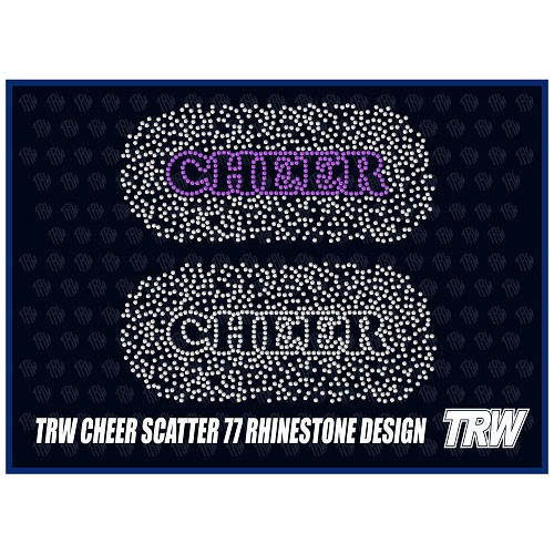 Cheer Scatter 77 Rhinestone Design Download Pack - Download