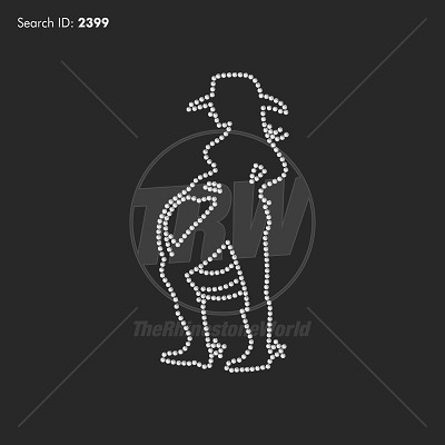 Cowgirl Outline - Download