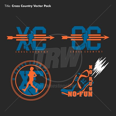 Cross Country Vector Pack - Download