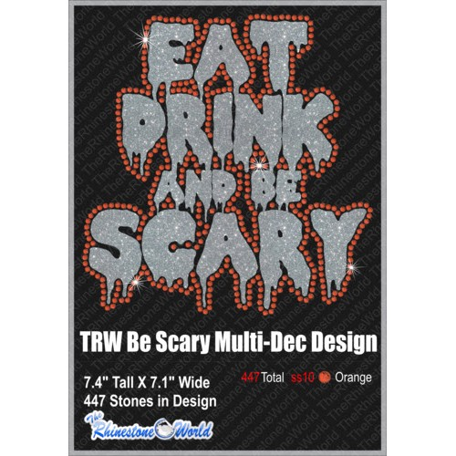 Eat Drink And Be Scary Multi-Dec Design - Download
