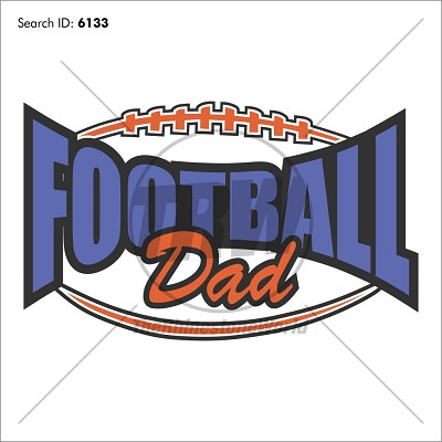 Football Dad 20 Vector Design - Download