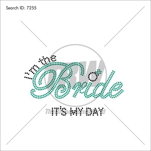 I'm the Bride Pack Rhinestone Design Pack - Download
