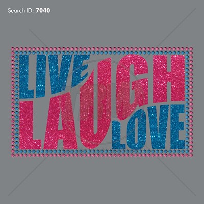 Live Laugh Love Multi-Dec Design - Download