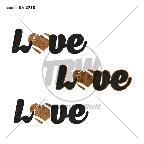 Love Football Vector Pack 77 - Download