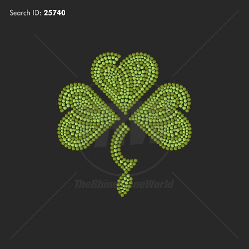 Lucky Charm Rhinestone Design - Download