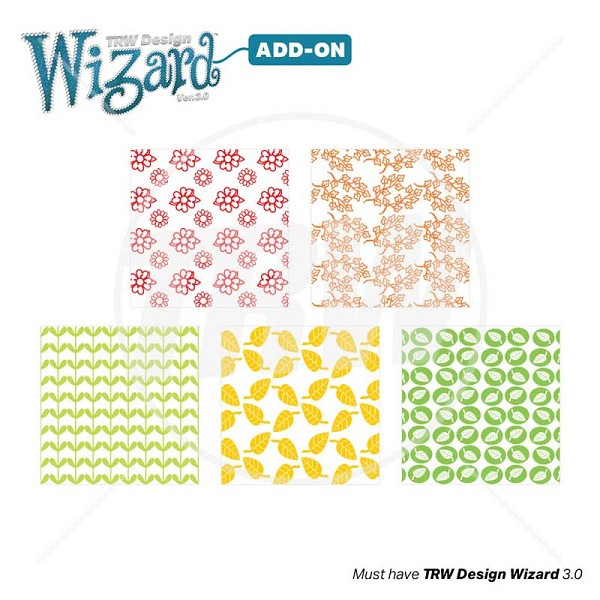 TRW Magic Pattern Pack Vol 19 Nature for Design Wizard 3.0 - Download
