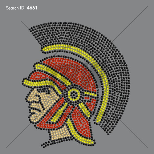 Mega Trojan Rhinestone Design - Download