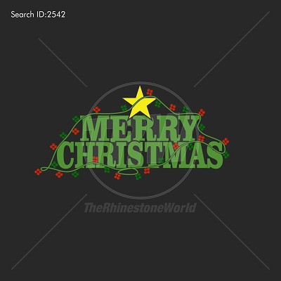 Merry Christmas Lights Multi-Dec Design - Download