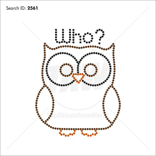 Owl Who - Pre-Cut Template
