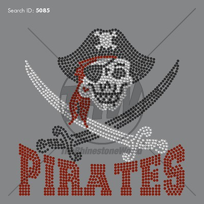 Pirates 55 Rhinestone Design - Download