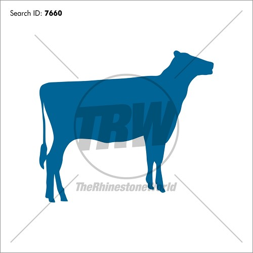Show Cow 1 Vector Design - Download