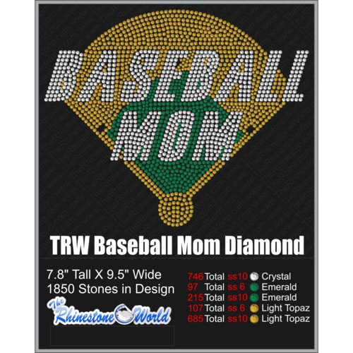 Baseball Mom Diamond  - Download
