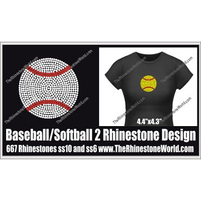 Baseball/Softball 2 Design  - Download