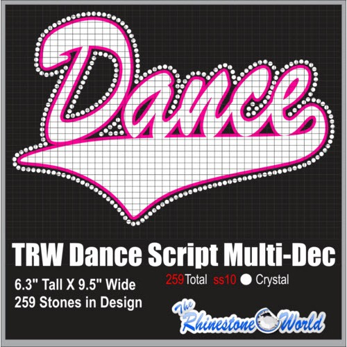 Dance Script Multi-Dec Design  - Download