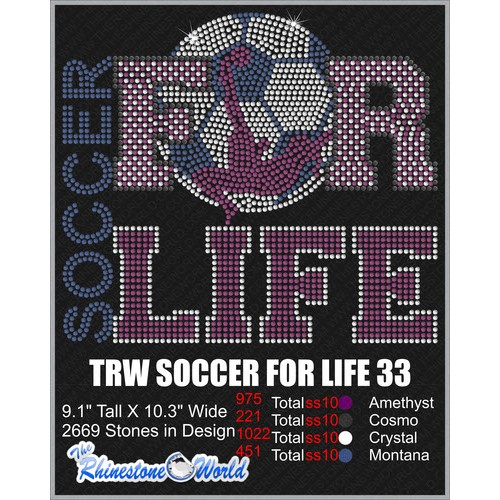 SOCCER FOR LIFE 33 Design  - Download
