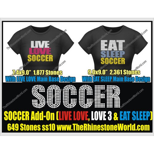 SOCCER LIVE LOVE, Love 3 & Eat Sleep - Download