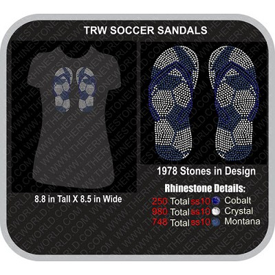 SOCCER SANDALS Design  - Download