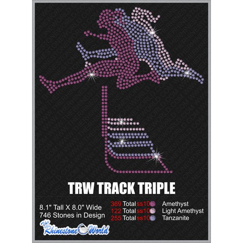 TRACK TRIPLE Design  - Download